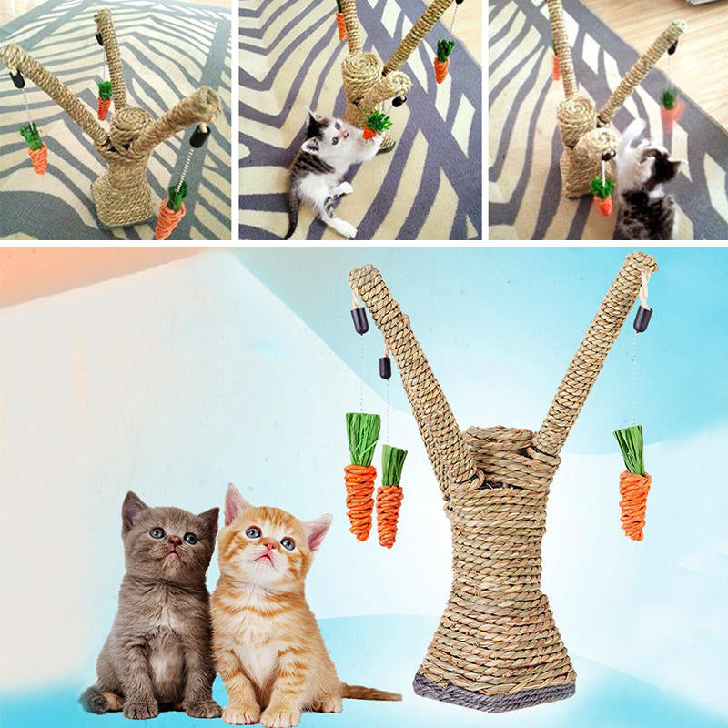 Pet Cat Toys Interactive Tree Tower Shelves Climbing Frame Scratching Post Toy | Edlpe