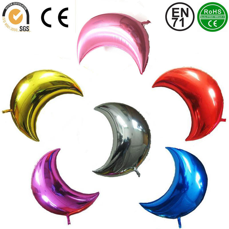 Moon Foil Balloons Party Wedding Home Decoration Romantic Decor | Edlpe
