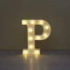 Image of A To Z Alphabet Letter Sign Led Night Light For Home Party Decor | Edlpe