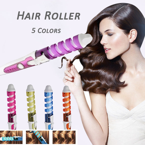 Pro Magic Curl Electric Hair Care Tools Curler Spiral Hair Rollers Curling Iron | Edlpe