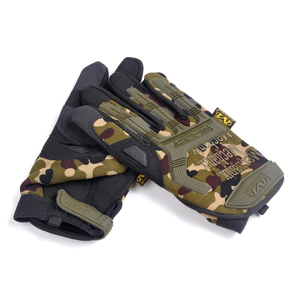 Tactical Gloves Military Army Airsoft Hunting Paintball Full Finger Gloves | Edlpe