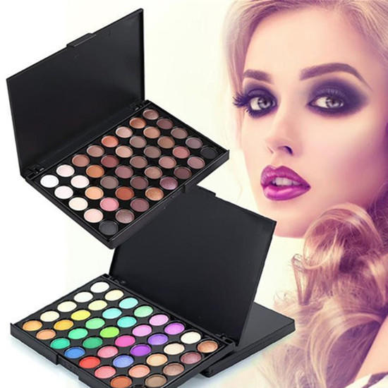 Cosmetic Beauty Matte Eyeshadow Cream Eye Shadow Makeup Palette Shimmer Set | Edlpe