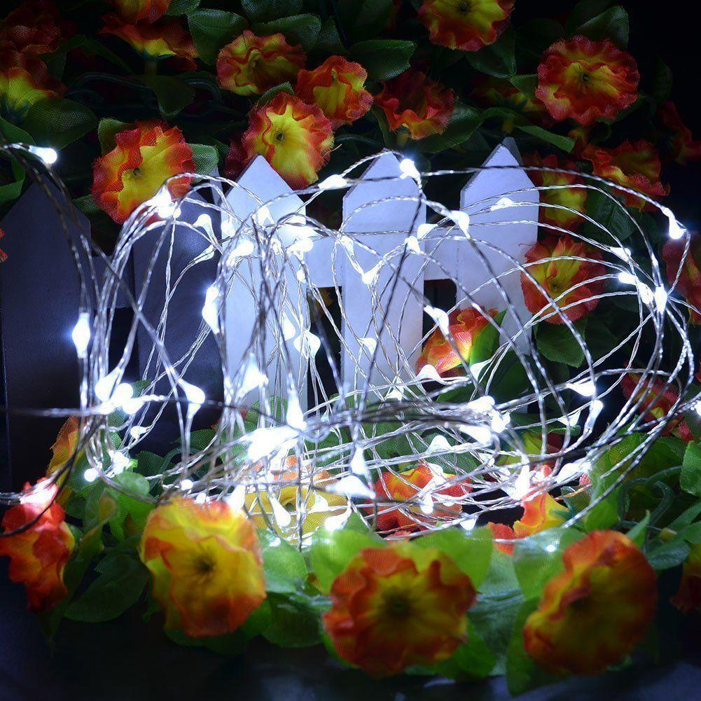 Waterproof Led Silver Copper Wire Fairy String Light Battery Powered Party Decoration | Edlpe