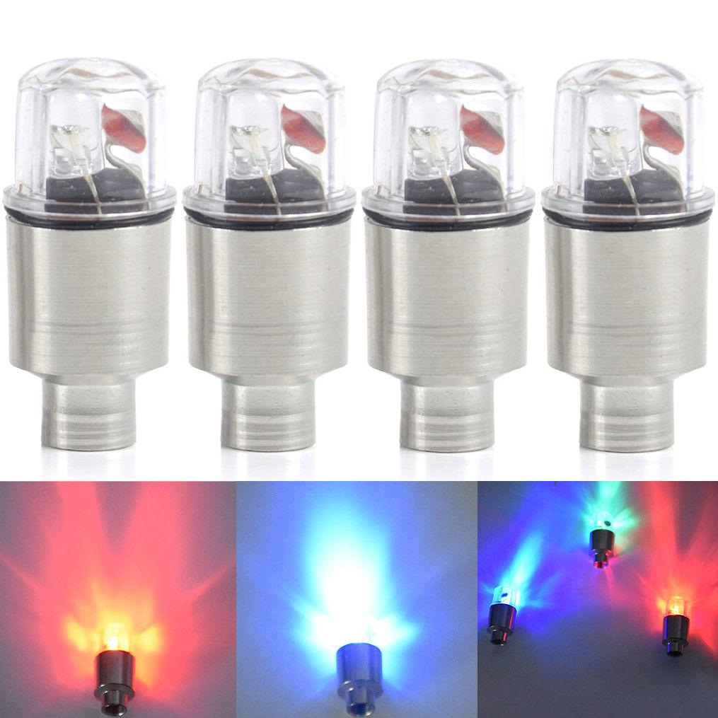 Auto Led Car Wheel Tire Tyre Valve Cap Light Car Bike Motorcycle Wheel Light Flash Led Light | Edlpe