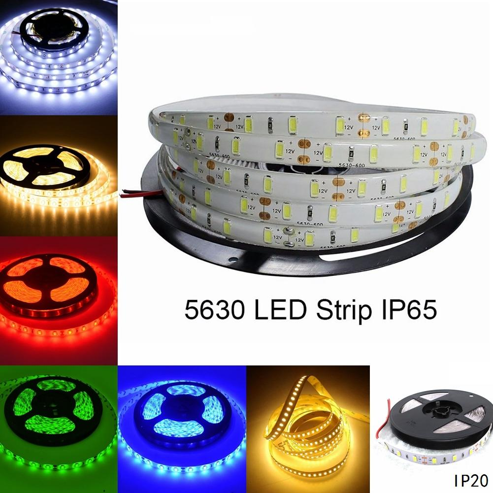 Super Bright 5M 12V 5630 5730 Smd 300 Leds Flexible Strip Home Decoration Light | Edlpe