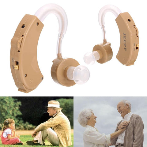 Digital Hearing Aid Sound Amplifier With 3 Different Size Earplugs Voice | Edlpe