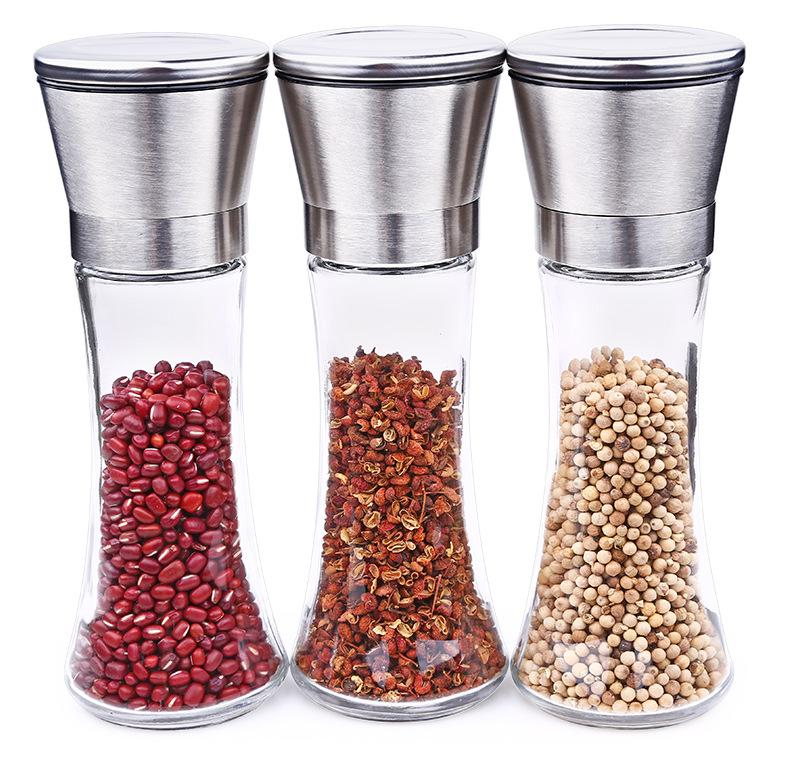 Home Skillful Manufacture Premium Stainless Steel Salt And Pepper Grinder Peppers Mill | Edlpe