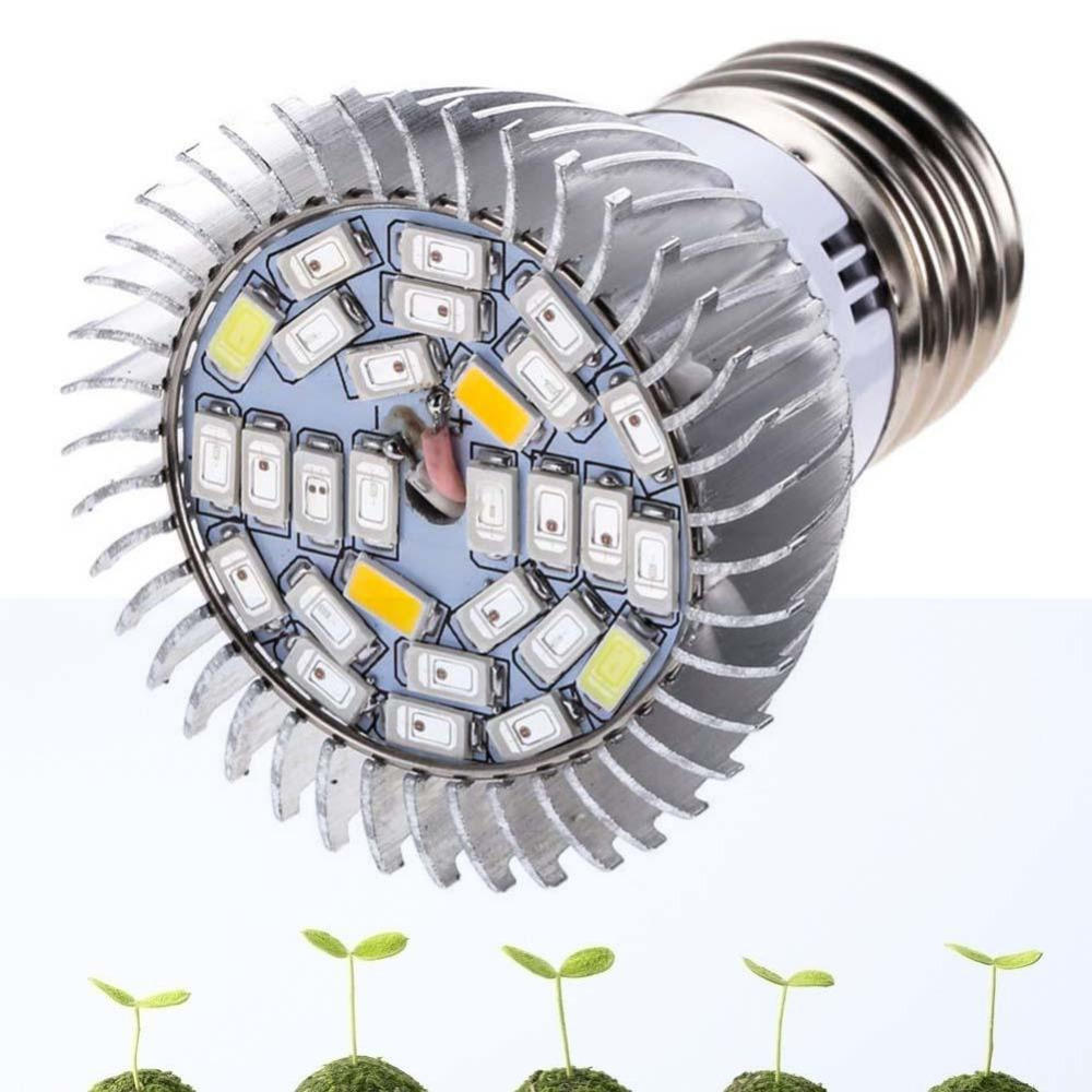2W-10W E27 Led Plant Grow Light Bulb Ir Uv Garden Hydroponic Full Spectrum Lamp | Edlpe
