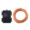 Image of 200 Led Timer Function Battery Powered Copper Wire String Light | Edlpe