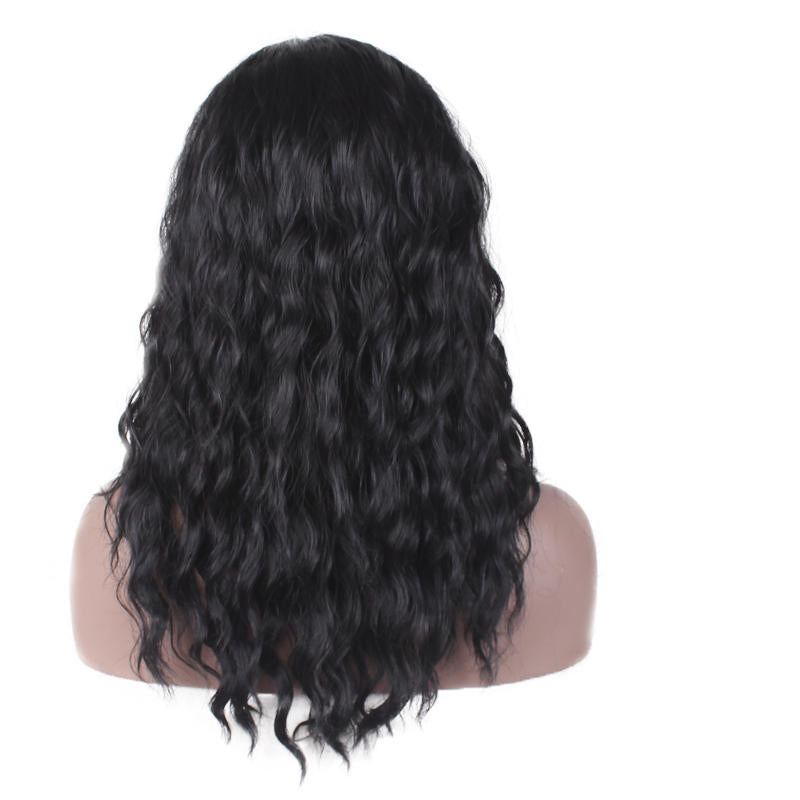 Women 22 Long Curly Hair Full Wig Front None Lace Hair Wigs For Black Women | Edlpe