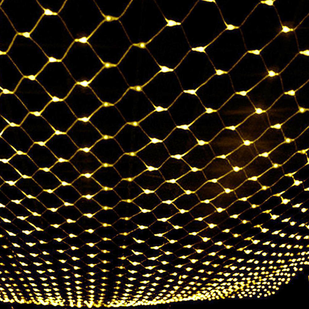Led String Fairy Lights Net Mesh Curtain Xmas Wedding Party Outdoor Indoor | Edlpe