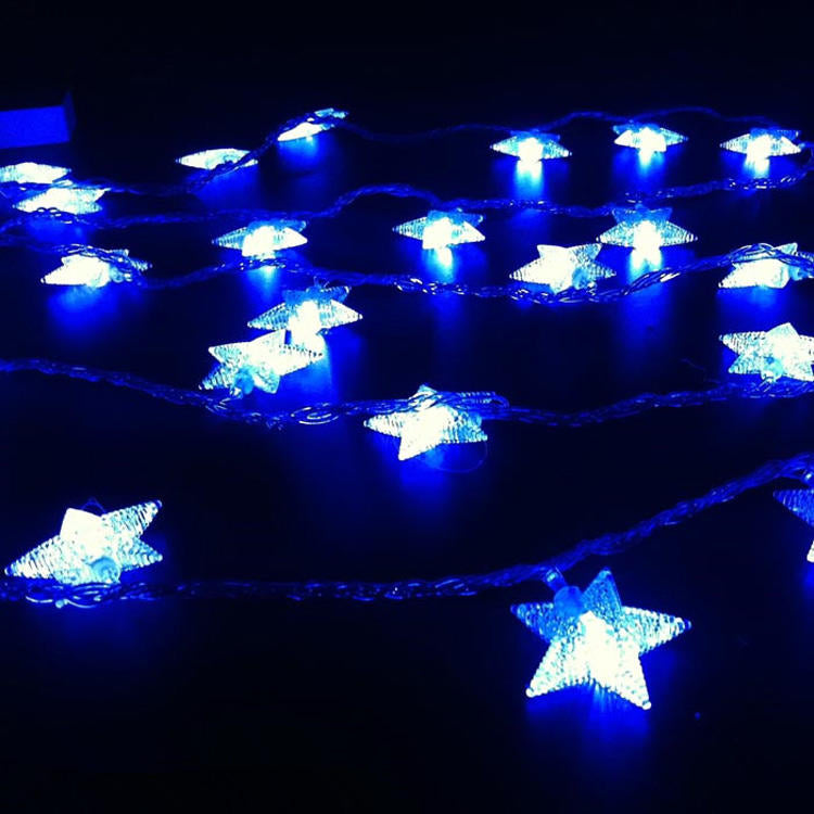Battery Power Star Shape Led String Light Colorful Fairly Lamp Outdoor Party Diy Decor | Edlpe