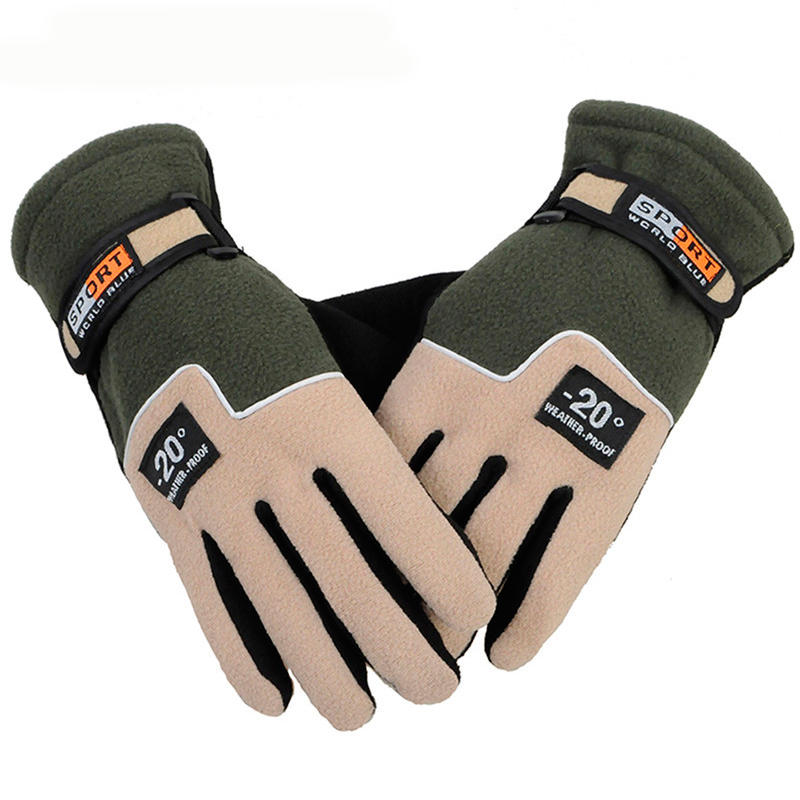 Men Women Cycling Bicycle Sports Glove Offroad Waterproof Full Finger Warm Gloves | Edlpe