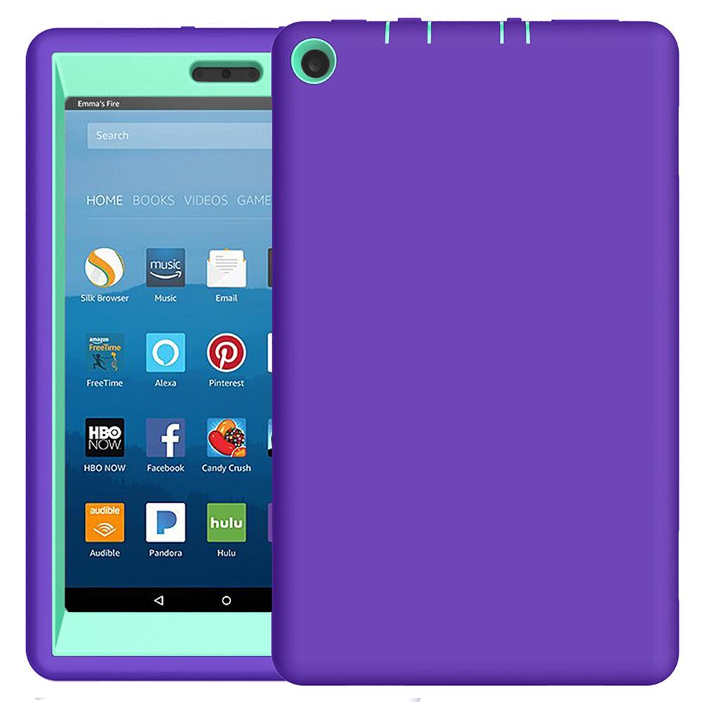 Heavy Duty Shockproof Case For All-New Fire Hd 8 Tablet (7Th Gen 2017) | Edlpe