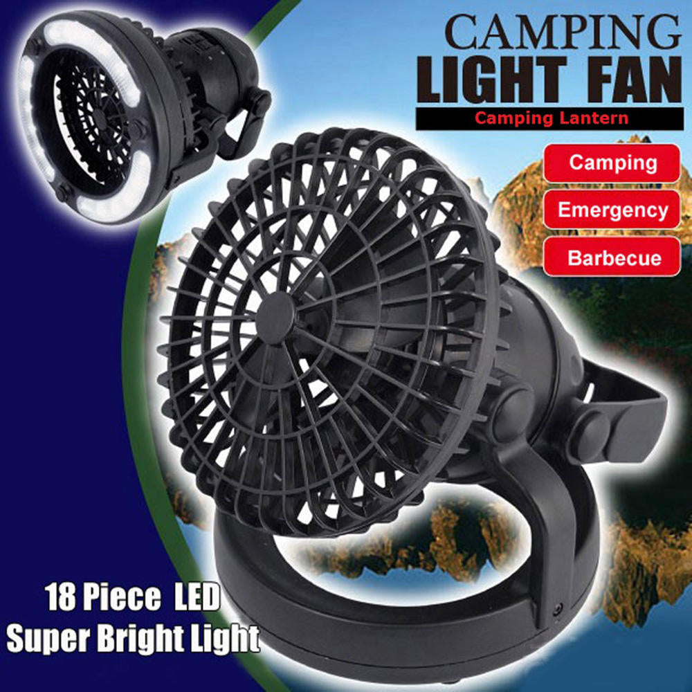 Camping Fan Light Led Camping Hanging Tent Lantern Hiking Fishing Light Lamp | Edlpe