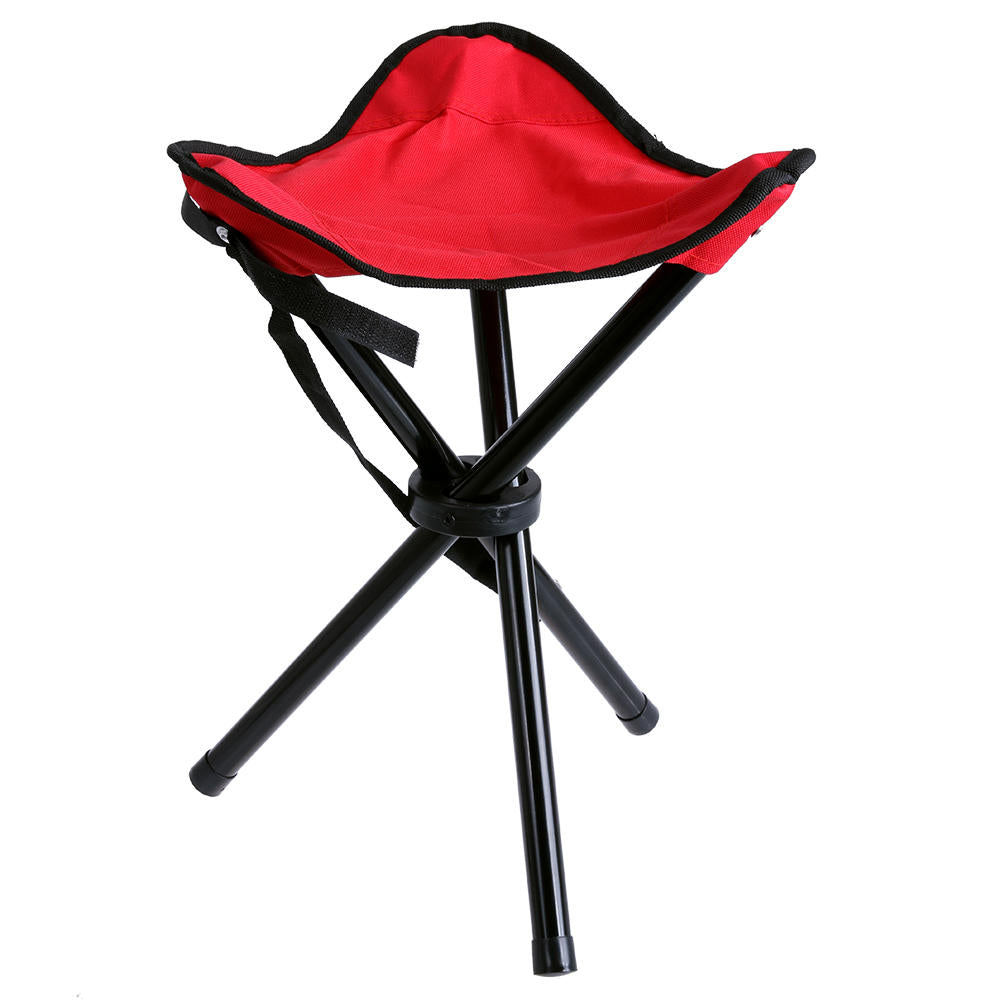 Outdoor Portable Camping Hiking Fishing Folding Picnic Stool Tripod Three Feet Chair | Edlpe