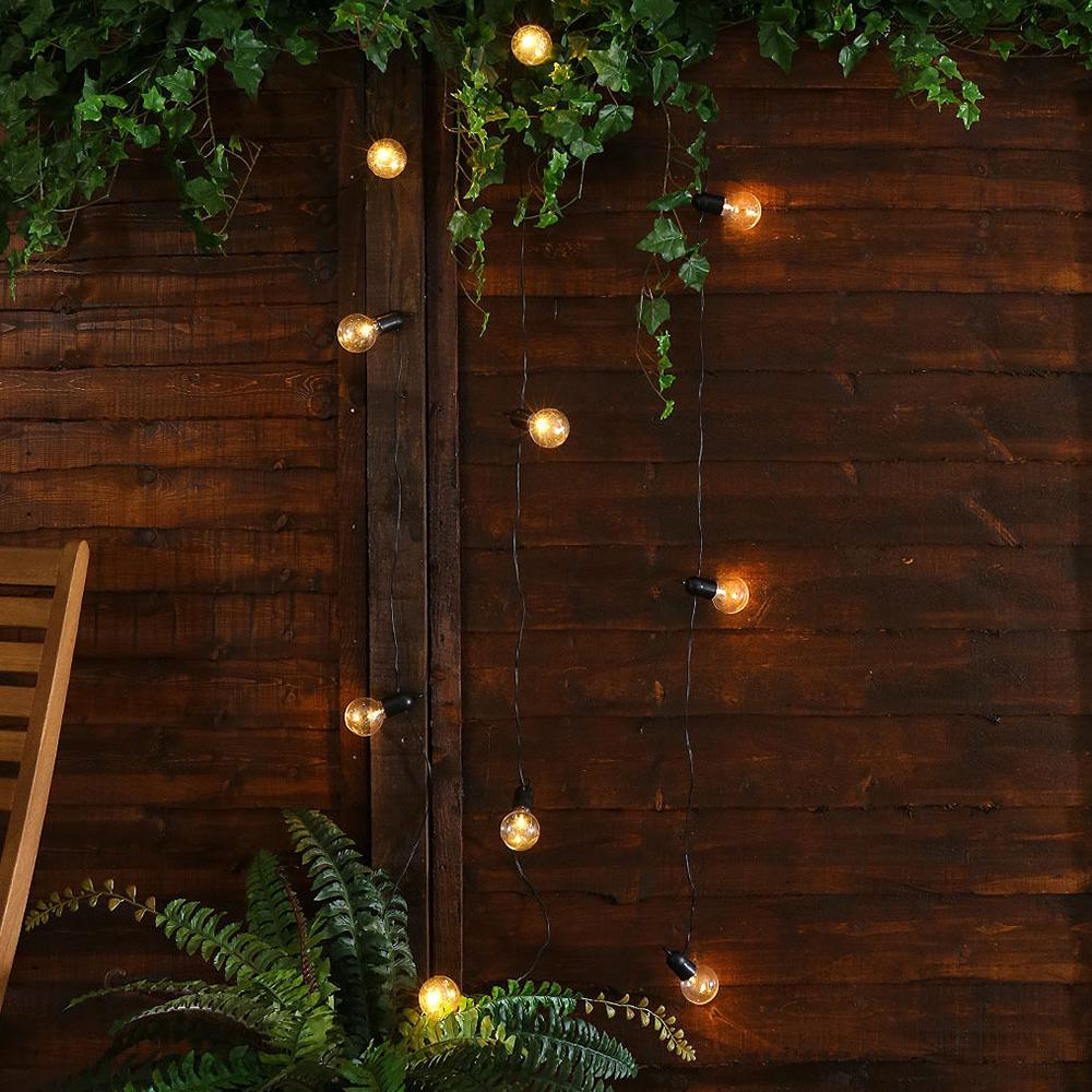 Battery Usb Operated 20/50 Led Bulbs Festoon Globe String Light | Edlpe