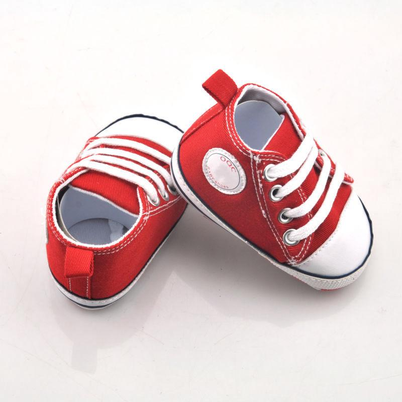 Infant Toddler Newborn Baby Unisex Boys Grils Sole Crib Shoes Sneaker Prewalker | Edlpe