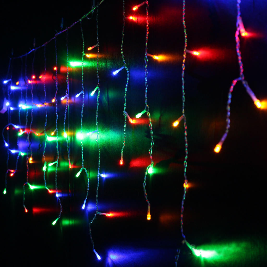 3/4/5M Christmas Led String Lights Lamp Outdoor Fairy Party Decor Curtain Icicle | Edlpe