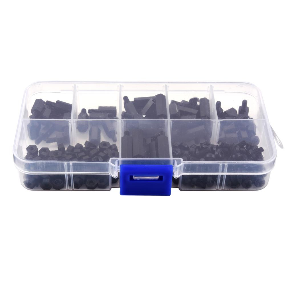 180Pcs M3 Nylon Standoff Hex Pillar Screw Driver Spacers | Edlpe