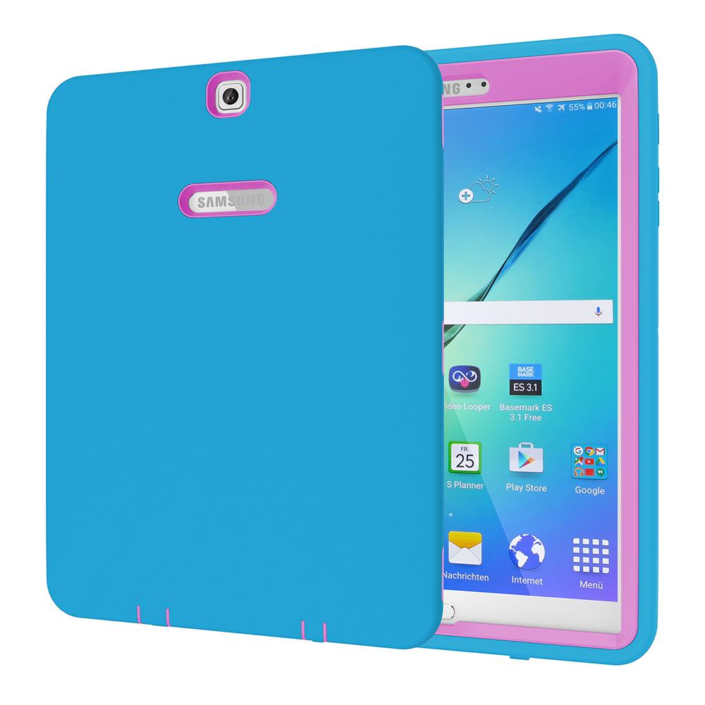 Tablet Case For Samsung Galaxy Tab S2 9.7 Tablet Heavy Duty Rugged Shockproof Case Cover | Edlpe