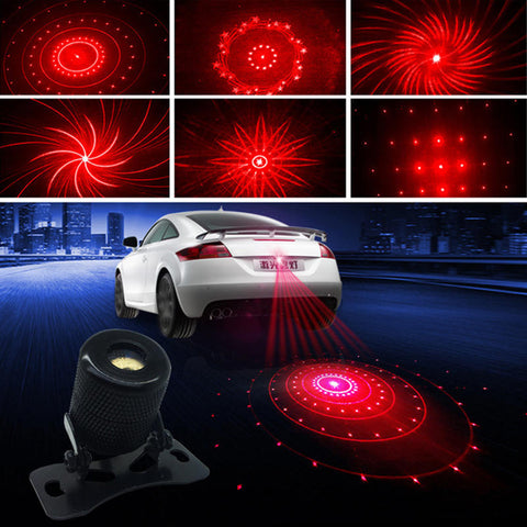Motorcycle Laser Fog Light Anti Rear End Collision Warning Lamp Led Car Tail Light | Edlpe