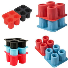 Summer 4-Hole Silicone Ice Cup Mold Diy Wine Glass Ice Lattice Home Ice Lattice Making Tool | Edlpe