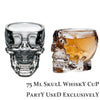 Image of 3D Crystal Skull Pirate Shot Glass Drink Cocktail Beer Cup Party Club Halloween | Edlpe