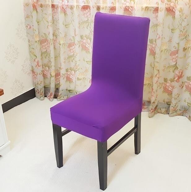Stretch Fit Short Dining Room Chair Cover Slip Covers Protector Seat Cover | Edlpe