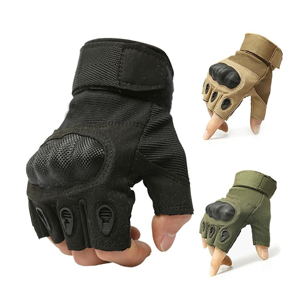 Tactical Gloves Military Airsoft Hard Knuckle Half Full Finger Outdoor Sports Glove | Edlpe