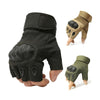 Image of Tactical Gloves Military Airsoft Hard Knuckle Half Full Finger Outdoor Sports Glove | Edlpe