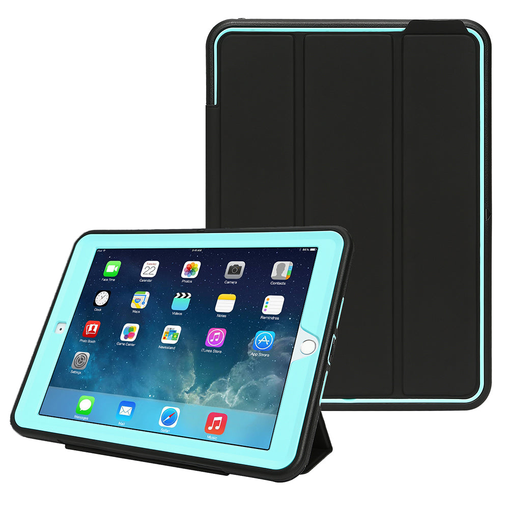 Ipad Case For New Ipad 9.7 2018/2017 Heavy Duty Shockproof Stand Smart Cover Protective Cases | Edlpe