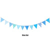 Image of Paper Banner Bunting Hanging Flags Cartoon Triangle Flag Kids Birthday Party Decorations | Edlpe