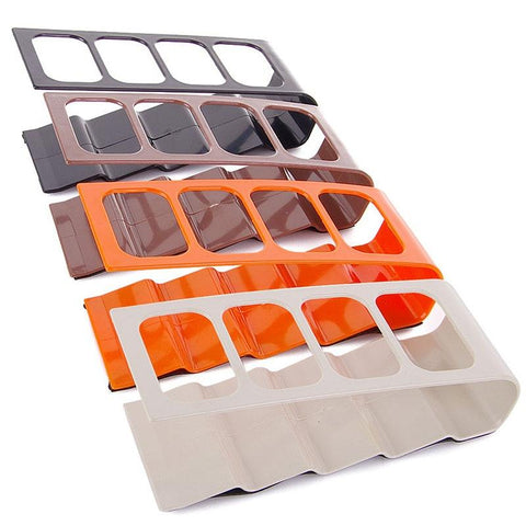 Practical 4 Section Remote Control Stand Plastic Holder Mobile Phone Organizer | Edlpe