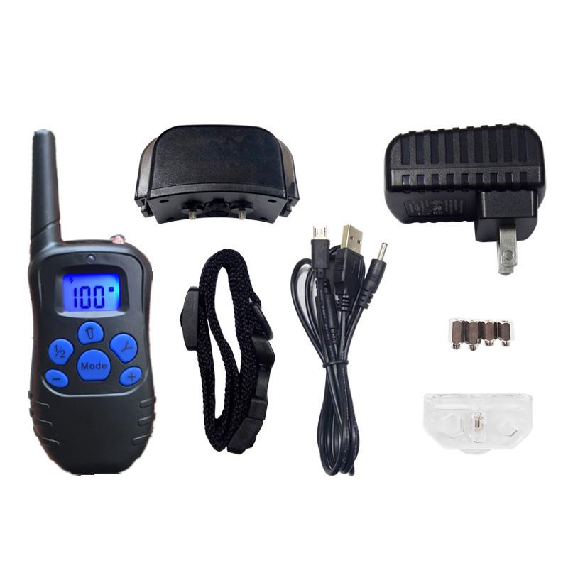 Rechargeable Lcd Electric Shock E-Collar Remote Control Dog Training Anti-Bark | Edlpe