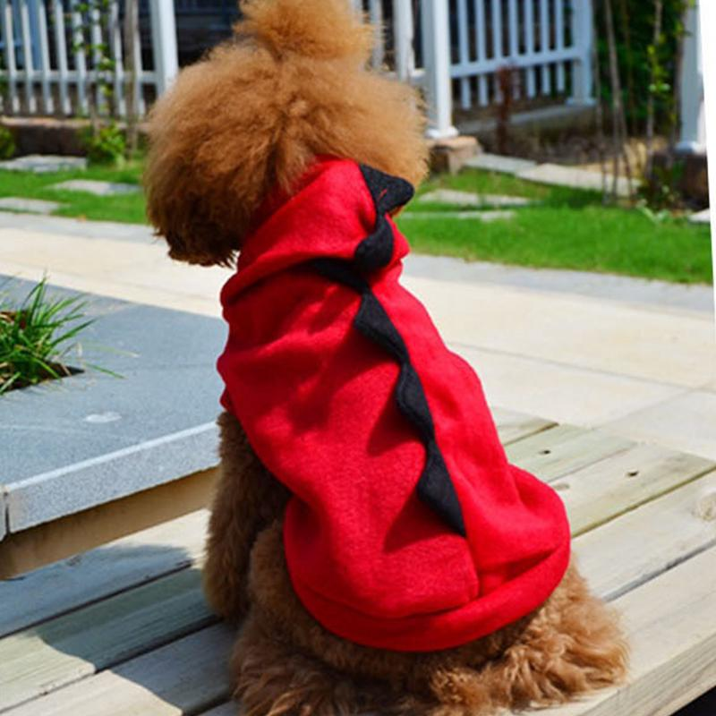 Pet Dog Clothes Hoodie Costume Warm Coat Puppy Cat Sweater Apparel Dinosaur Suit | Edlpe