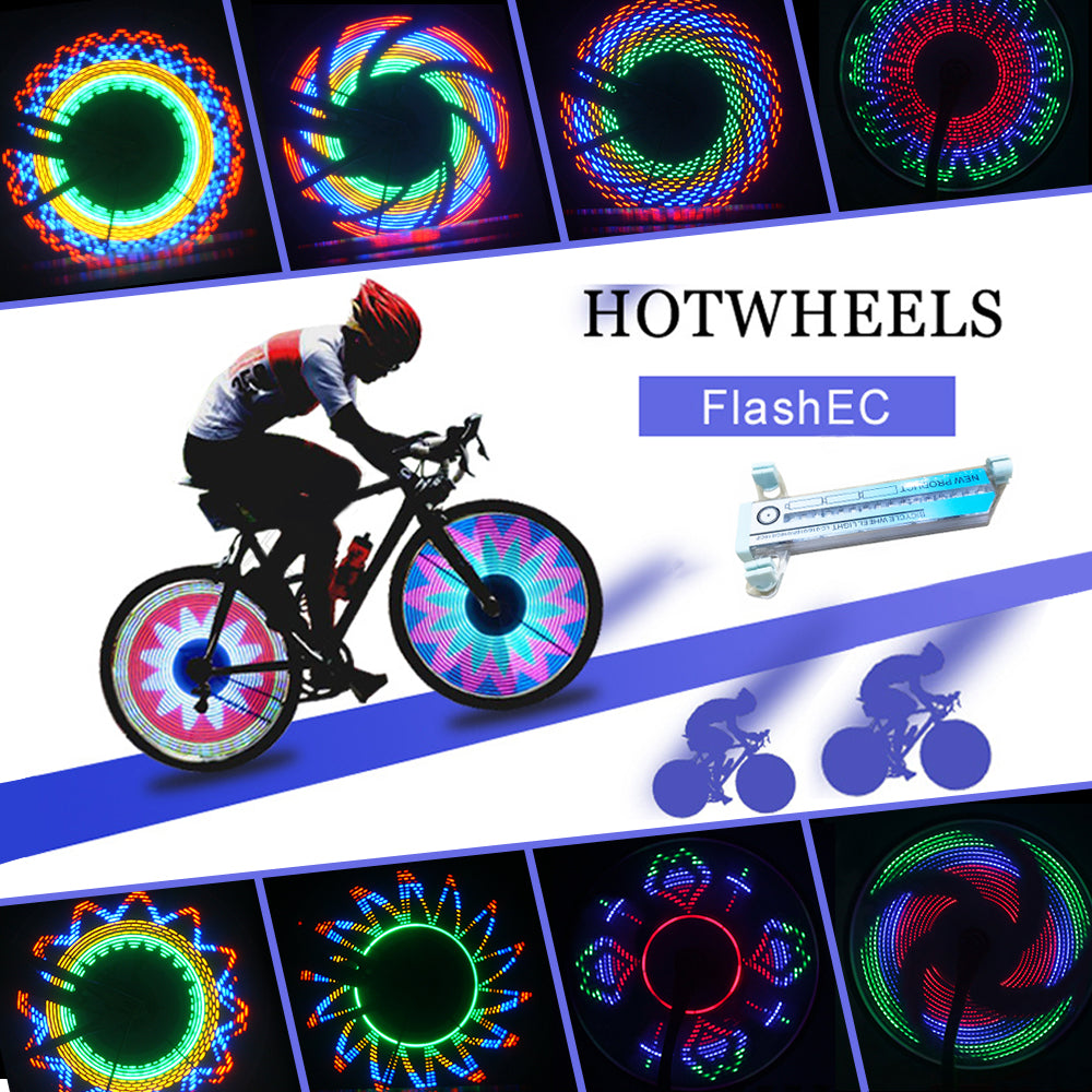 36 Led Rgb Waterproof Bike Bicycle Changing Wheel Flash Light For Night Riding | Edlpe