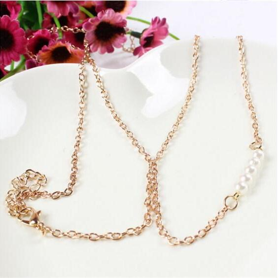Bohemian Fashion Women Jewelry Trendy Sexy Imitation Pearl Waist Chain | Edlpe