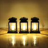 Image of Solar Power Led Candle Light Outdoor Garden Yard Landscape Lantern Hanging Lamp | Edlpe
