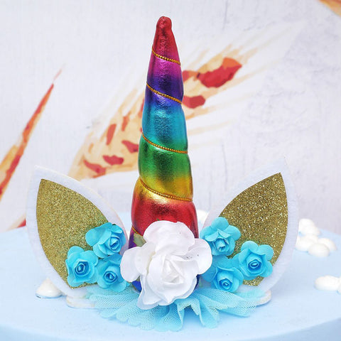 3D Unicorn Horn Shape Silicone Mold Soap Fondant Candy Cake Baking Molds Diy Wedding Decor Tools | Edlpe