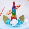 Image of 3D Unicorn Horn Shape Silicone Mold Soap Fondant Candy Cake Baking Molds Diy Wedding Decor Tools | Edlpe