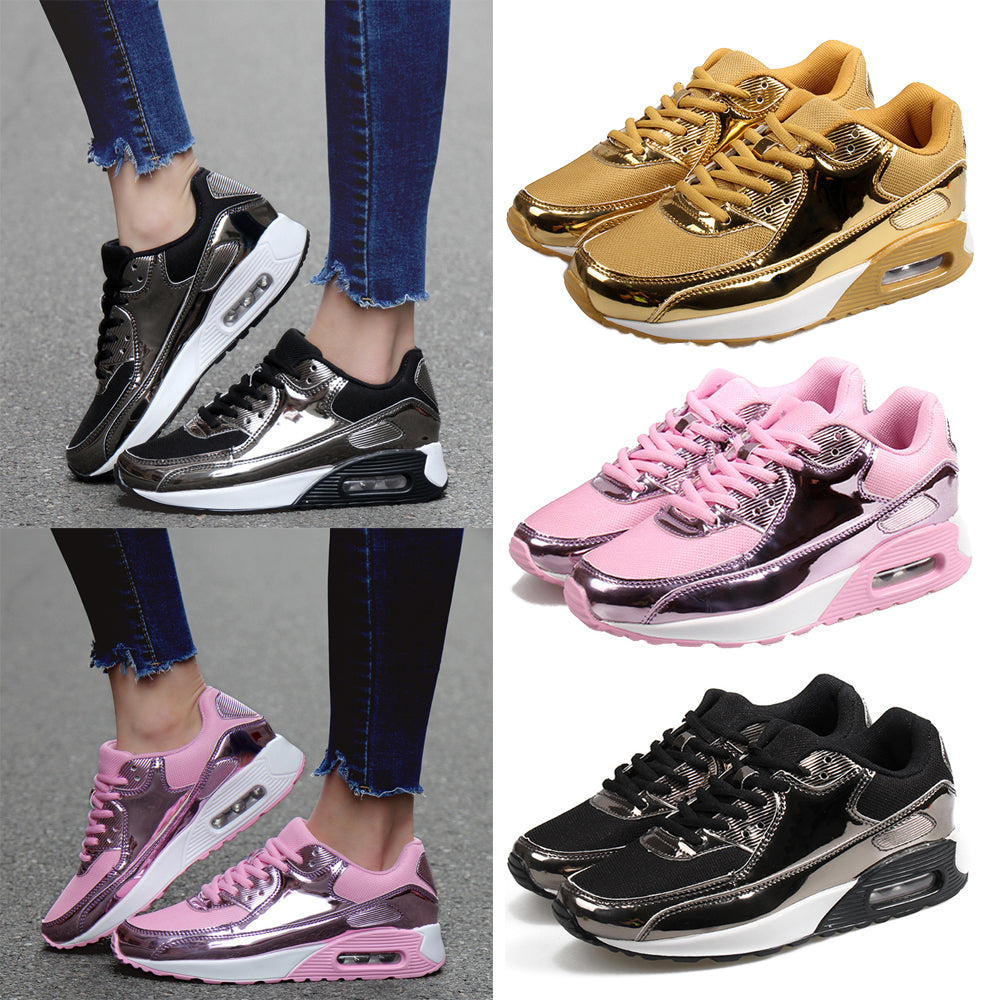 Fashion Womens Breathable Super Light Sneaker Casual Lace Up Sport Running Shoes | Edlpe