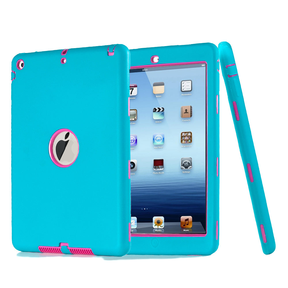 Three Layer Protective Heavy Duty Rugged Shockproof Armor Defender Case Cover Ipad Air/ipad5 | Edlpe