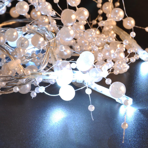 Colorful Crystal Bead Led String Light For Home Party Decor | Edlpe
