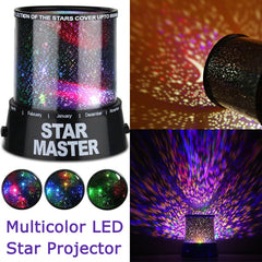 LED Star Master Multicolor Sky Starry Night Light LED Projector Light Lamp