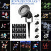 Image of 12 Patterns Led Projector Landscape Lamp Remote Control Waterproof Perfect For Halloween Christmas | Edlpe