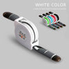 Image of Charger Cable Retractable Charging Android Lightning Cable 8 Pin Micro Usb Stretch | Edlpe
