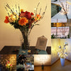 Image of 20 Led Warm White Battery Branch Party Fairy String Lights Home Decoration Floral Light | Edlpe