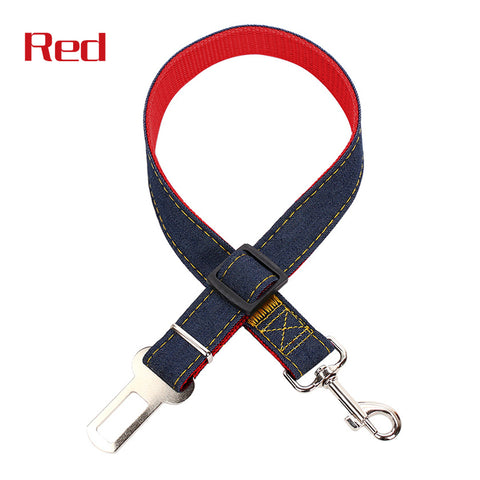 Dog Pets Car Safety Seat Belt Harness Restraint Lead Adjustable Travel Clip | Edlpe