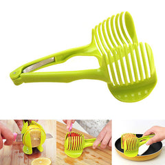 Kitchen Cooking Tool Fruits And Vegetables Slice Assistant Tomato Slice Perfect Slicer Cutter Holder | Edlpe